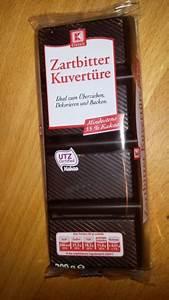 K Classic (Kaufland) Kuvertüre Kalorien, Nährwerte