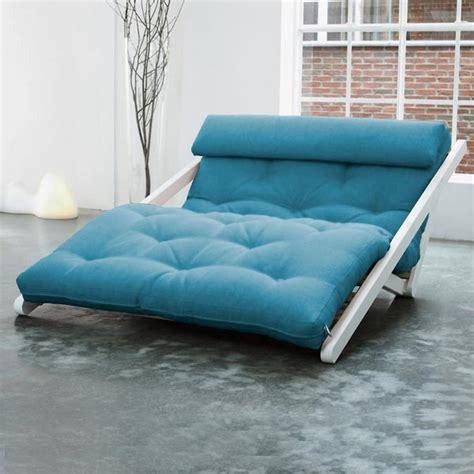 canapé lit futon canapé convertible méridienne chaise longue très design en pin massif scandinave transformable