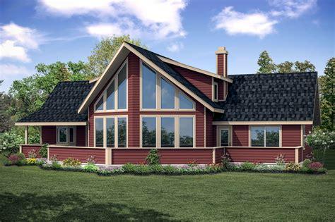 Popular A-frame House Plan