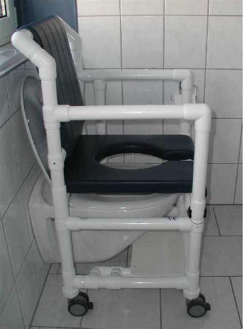 chaise de toilette pour handicapé chaise percée chaise de rehausseur de toilettes