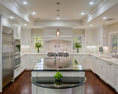 Kitchen Soffit Design Ideas by Atherton Family Kitchen Traditional Kitchen San