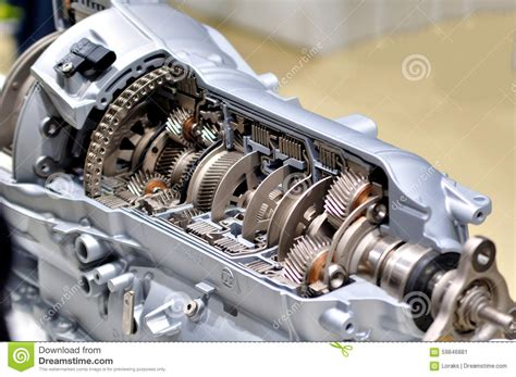 Car Transmission. Stock Image. Image Of Auto, Gearbox