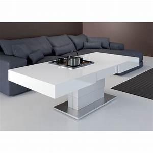 Table Basse Relevable Avec Roulettes