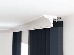 Gardinenschiene Mit Blende : vorhangschiene mit blende lko2 led gardinenverkleidung ~ Watch28wear.com Haus und Dekorationen