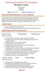 Catering Assistant Manager Cv Exles by Catering Assistant Description Resume 28 Images Professional Catering Assistant Templates To