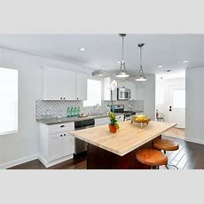 White Kitchen Cabinets With Brass Hardware  Contemporary