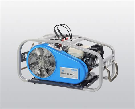 mariner breathing air compressor high pressure diving ship compressor 200 l min up to 330 bar