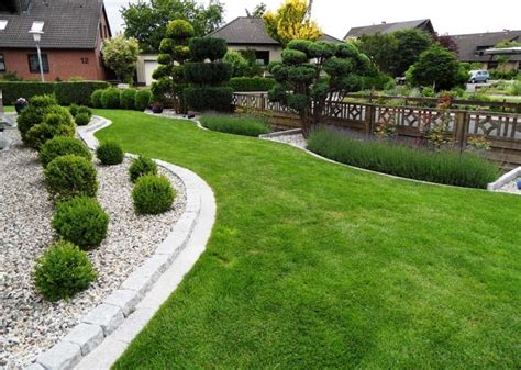 Gartengestaltung Mit Kies Und Gräsern gartengestaltung mit gr 228 sern und kies gartengestaltung mit