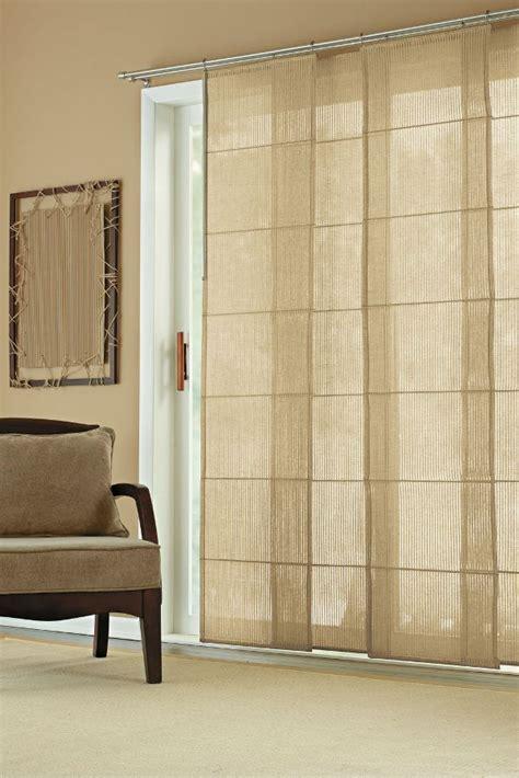 sliding door coverings ideas 25 best ideas about sliding door blinds on