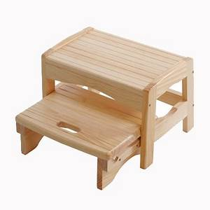 Collapsible Wooden Step Stool images