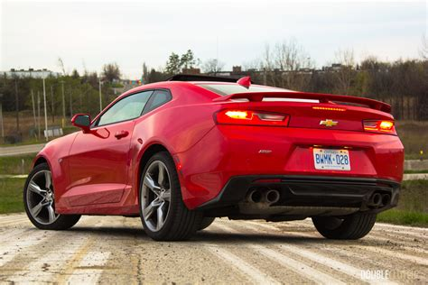 2016 Chevy Camaro Review by 2016 Chevrolet Camaro Ss Review Doubleclutch Ca