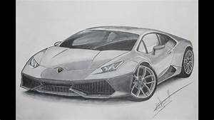 Drawing - Lamborghini Huracan by Alex Sh - YouTube