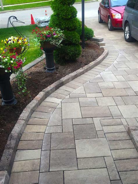 interlock stone driveways walkways  patios installation