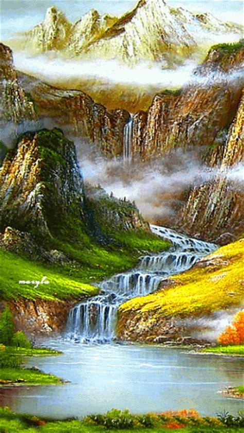 impresionantes imagenes de paisajes en movimiento gifs de