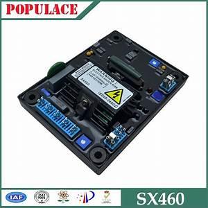 Circuit Diagram Generator Voltage Regulator Avr Mx341