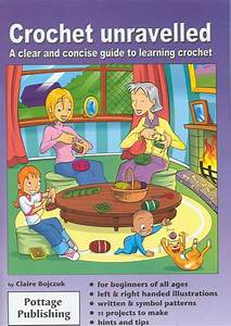 How To Crochet Illustrated Crochet Instructions