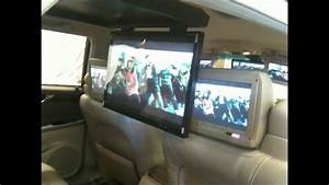 Cadillac Deville 2001 25 U0026quot  Flip Down Tv Tview Install Total