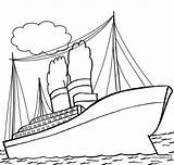 Titanic Coloring Ship Pages Drawing Printable Cruise Sinking Cool2bkids Pirate Ships Getdrawings Sheets Disney Books Boys Sunken Drawings Getcolorings Paintingvalley sketch template