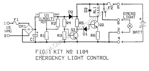 emergency lighting controller smart kit 1184