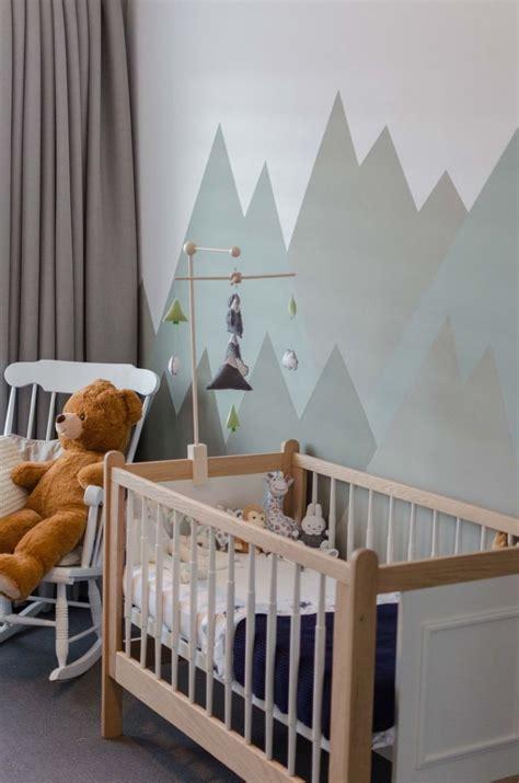 papier peint chambre bébé mixte 1001 conseils pour trouver la meilleure idée déco