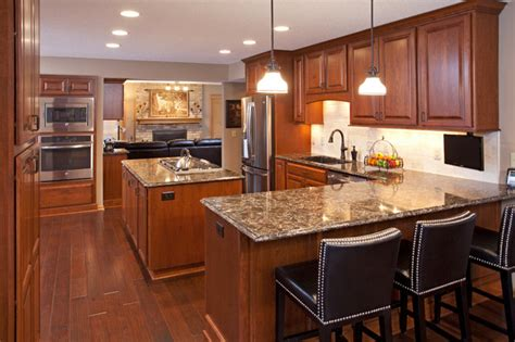 how to take kitchen cabinets traditional cherry kitchen 8915