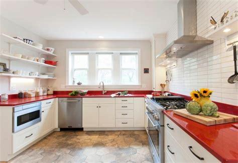 plan de travail cuisine blanc laqué plan de travail laque maison design bahbe com