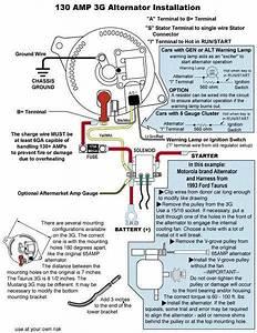 3g Alternator Wiring Help
