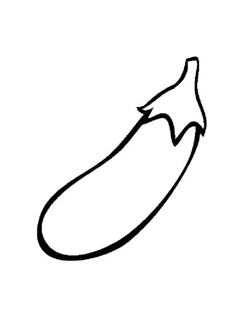eggplant coloring pages   print eggplant coloring pages