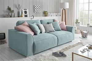 L Sofa Mit Schlaffunktion : modernes design big sofa weekend aquamarin schlaffunktion mit bettkasten und kissen riess ~ Frokenaadalensverden.com Haus und Dekorationen