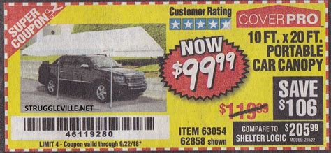 ft   ft portable car canopy expires    struggleville