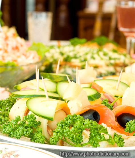 canapes dictionary canape photo picture definition at photo dictionary