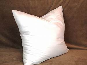 18x18 synthetic faux down pillow form insert for craft throw With cheap down pillow inserts