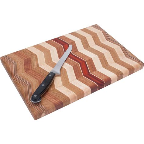 laminated products zig zag wood cutting board ode to wood
