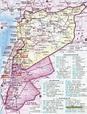 黎巴嫩地图