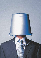 Bucket on Head - Graphis