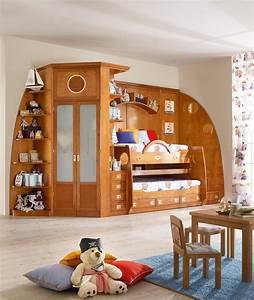 Lit Superposé Escalier : 244 lit avec rangement by caroti ~ Premium-room.com Idées de Décoration