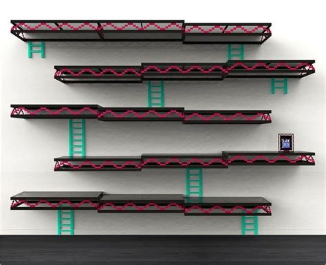 Donkey Kong Wall Shelves Diy Project Inspiration Cool