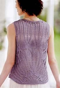 Pineapple Stitch Crochet Vest  U22c6 Crochet Kingdom