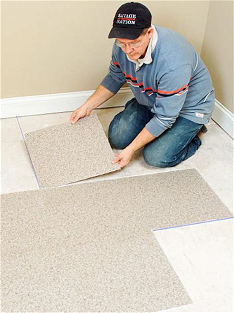 installing carpet tile how to install carpeting