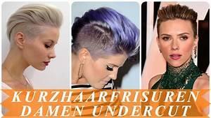 Sidecut Frauen Kurzhaar : schone undercut frisuren frau kurze haare 2018 youtube ~ Frokenaadalensverden.com Haus und Dekorationen