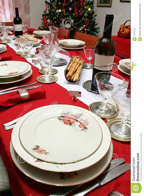 christmas table setting stock image image  drink house