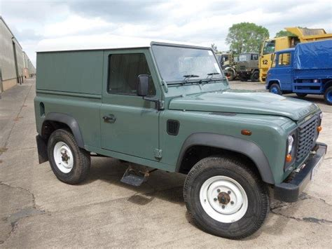 land rover military defender land rover defender 90 hard top ex military for sale