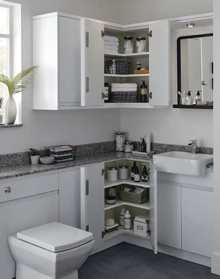 Clerkenwell Super Matt Bathroom Cabinet  Howdens Joinery