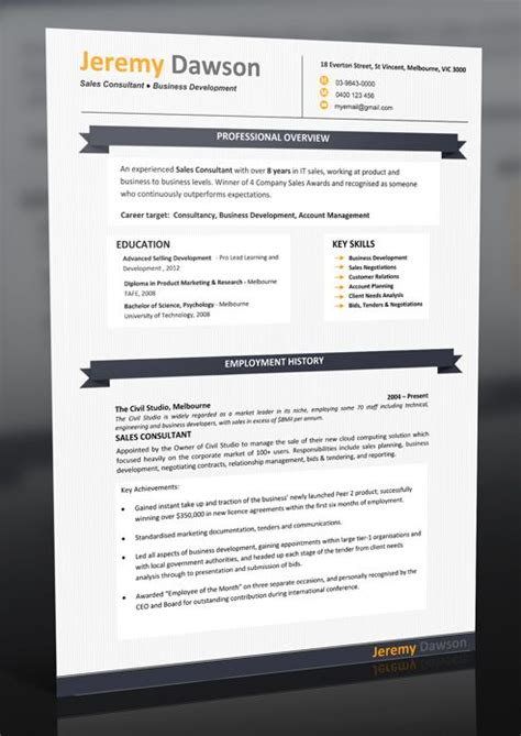Resume Headers For Microsoft Word by 17 Best Images About Sle Resumes Professional Resume Templates On Resume
