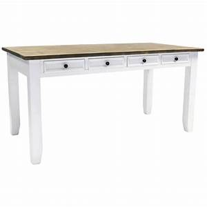 Charles Bentley Hampton Farmhouse Dining Table With