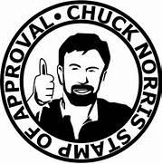 chuck norris stamp of ...