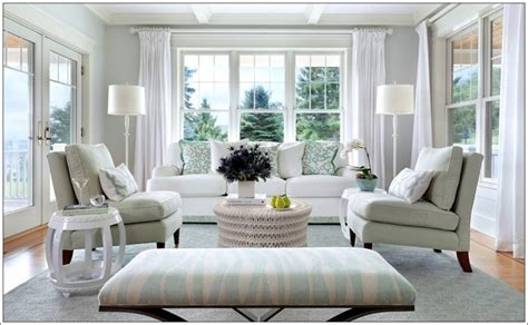 how about chalky pastels in your living room