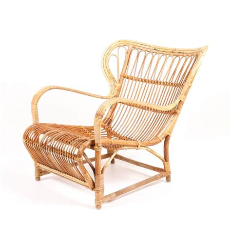 bamboo lounge chair by wengler for sale at 1stdibs