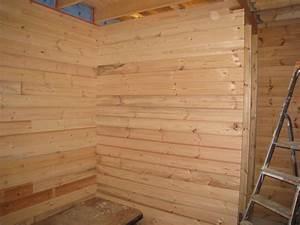 Faire Une Cloison En Bois : cloison auto construction d 39 une maison en bois massif ~ Melissatoandfro.com Idées de Décoration