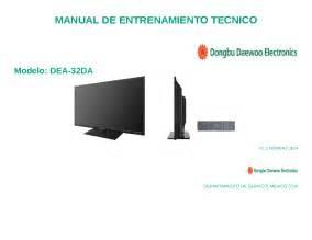 Daewoo Dea-32da Led Tv Technical Manual Service Manual